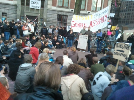 General Assembly Occupy Amsterdam